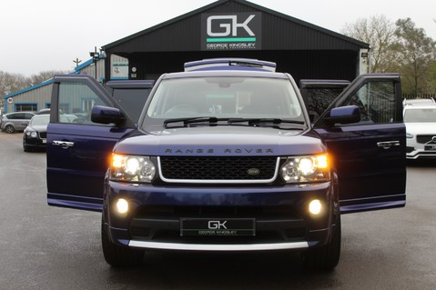Land Rover Range Rover Sport TDV6 HSE - AUTOBIOGRAPHY BODYKIT - KAHN WHEELS - RARE BALI BLUE 13