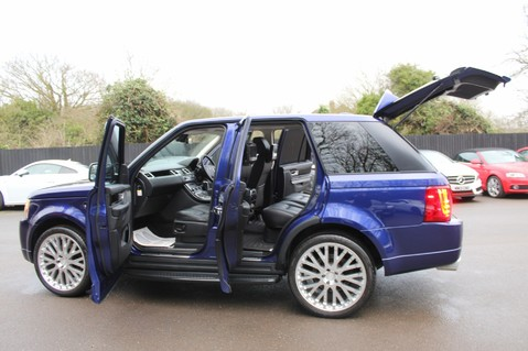 Land Rover Range Rover Sport TDV6 HSE - AUTOBIOGRAPHY BODYKIT - KAHN WHEELS - RARE BALI BLUE 15
