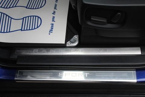 Land Rover Range Rover Sport TDV6 HSE - AUTOBIOGRAPHY BODYKIT - KAHN WHEELS - RARE BALI BLUE 21