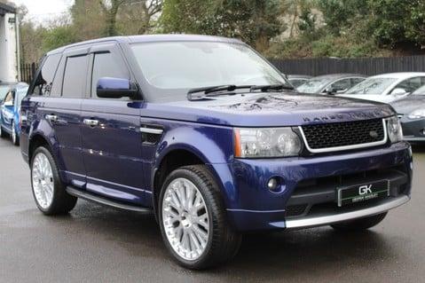 Land Rover Range Rover Sport TDV6 HSE - AUTOBIOGRAPHY BODYKIT - KAHN WHEELS - RARE BALI BLUE 61