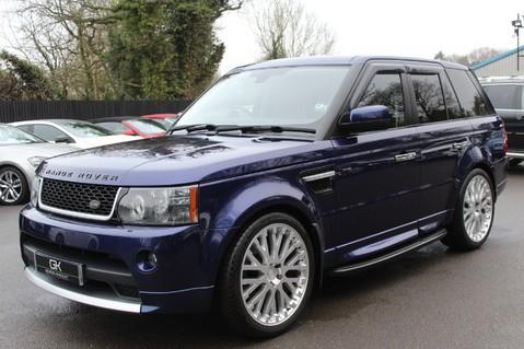 Land Rover Range Rover Sport TDV6 HSE - AUTOBIOGRAPHY BODYKIT - KAHN WHEELS - RARE BALI BLUE 64