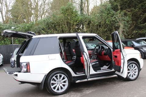 Land Rover Range Rover AUTOBIOGRAPHY TDV8 - DIGITAL TV - RED/BLACK LEATHER - DOUBLE GLAZED 15