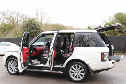 Land Rover Range Rover AUTOBIOGRAPHY TDV8 - DIGITAL TV - RED/BLACK LEATHER - DOUBLE GLAZED 16