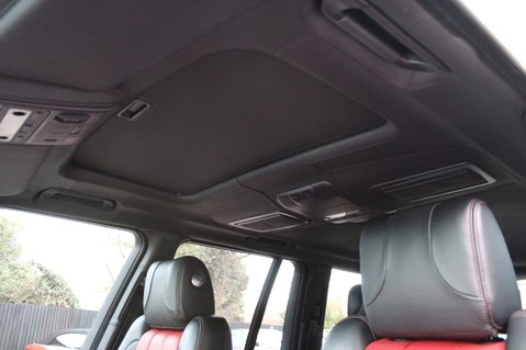 Land Rover Range Rover AUTOBIOGRAPHY TDV8 - DIGITAL TV - RED/BLACK LEATHER - DOUBLE GLAZED 25