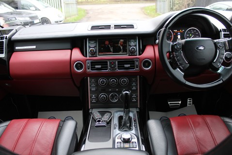 Land Rover Range Rover AUTOBIOGRAPHY TDV8 - DIGITAL TV - RED/BLACK LEATHER - DOUBLE GLAZED 11