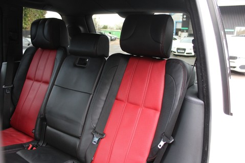 Land Rover Range Rover AUTOBIOGRAPHY TDV8 - DIGITAL TV - RED/BLACK LEATHER - DOUBLE GLAZED 28