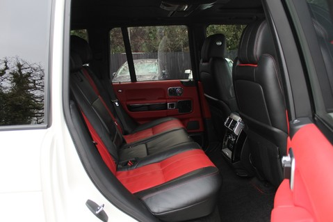 Land Rover Range Rover AUTOBIOGRAPHY TDV8 - DIGITAL TV - RED/BLACK LEATHER - DOUBLE GLAZED 31