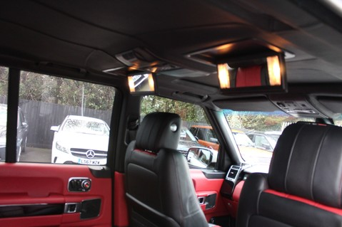 Land Rover Range Rover AUTOBIOGRAPHY TDV8 - DIGITAL TV - RED/BLACK LEATHER - DOUBLE GLAZED 37