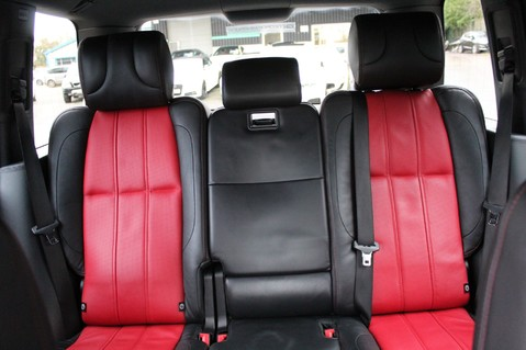 Land Rover Range Rover AUTOBIOGRAPHY TDV8 - DIGITAL TV - RED/BLACK LEATHER - DOUBLE GLAZED 39