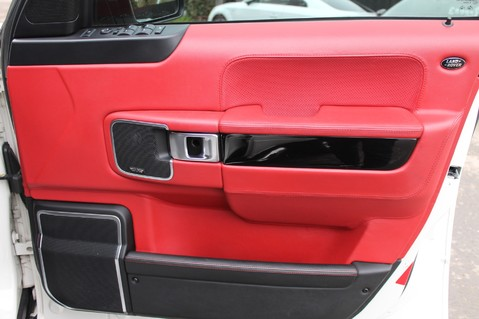 Land Rover Range Rover AUTOBIOGRAPHY TDV8 - DIGITAL TV - RED/BLACK LEATHER - DOUBLE GLAZED 43