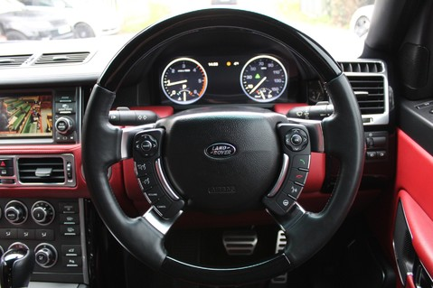 Land Rover Range Rover AUTOBIOGRAPHY TDV8 - DIGITAL TV - RED/BLACK LEATHER - DOUBLE GLAZED 46