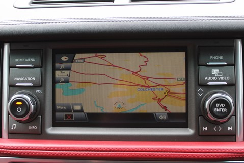 Land Rover Range Rover AUTOBIOGRAPHY TDV8 - DIGITAL TV - RED/BLACK LEATHER - DOUBLE GLAZED 52