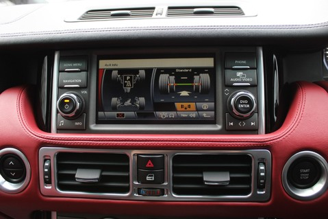 Land Rover Range Rover AUTOBIOGRAPHY TDV8 - DIGITAL TV - RED/BLACK LEATHER - DOUBLE GLAZED 53