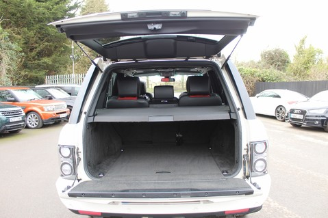Land Rover Range Rover AUTOBIOGRAPHY TDV8 - DIGITAL TV - RED/BLACK LEATHER - DOUBLE GLAZED 64