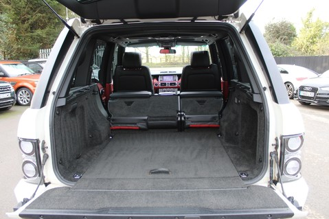 Land Rover Range Rover AUTOBIOGRAPHY TDV8 - DIGITAL TV - RED/BLACK LEATHER - DOUBLE GLAZED 66