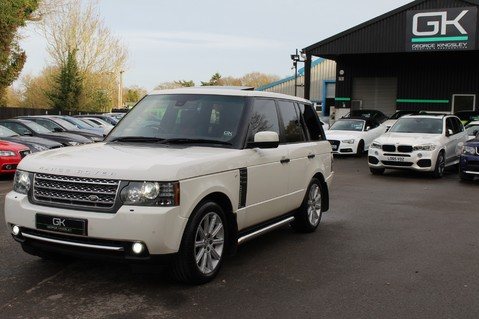 Land Rover Range Rover AUTOBIOGRAPHY TDV8 - DIGITAL TV - RED/BLACK LEATHER - DOUBLE GLAZED 77