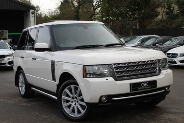 Land Rover Range Rover AUTOBIOGRAPHY TDV8 - DIGITAL TV - RED/BLACK LEATHER - DOUBLE GLAZED