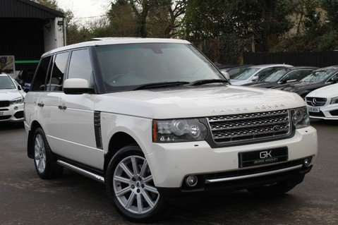 Land Rover Range Rover AUTOBIOGRAPHY TDV8 - DIGITAL TV - RED/BLACK LEATHER - DOUBLE GLAZED 1