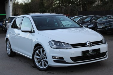 Volkswagen Golf GT TDI BMT DSG - PAN ROOF/LEATHER/SAT NAV/PARK ASSIST/XENONS - BIG SPEC!