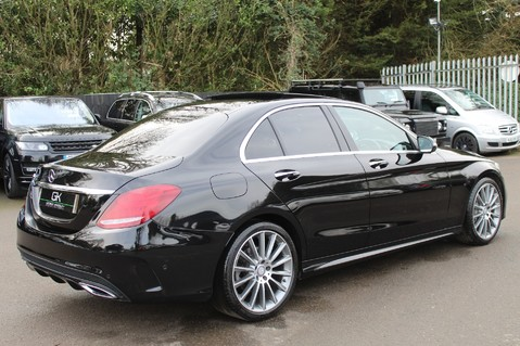 Mercedes-Benz C Class C220 D AMG LINE PREMIUM - PAN ROOF - 19 INCH ALLOYS - ONE OWNER - VAT Q 5