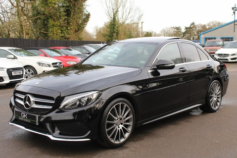 Mercedes-Benz C Class C220 D AMG LINE PREMIUM - PAN ROOF - 19 INCH ALLOYS - ONE OWNER - VAT Q 8