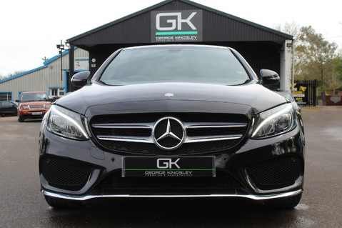 Mercedes-Benz C Class C220 D AMG LINE PREMIUM - PAN ROOF - 19 INCH ALLOYS - ONE OWNER - VAT Q 9