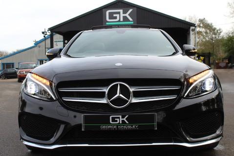 Mercedes-Benz C Class C220 D AMG LINE PREMIUM - PAN ROOF - 19 INCH ALLOYS - ONE OWNER - VAT Q 18