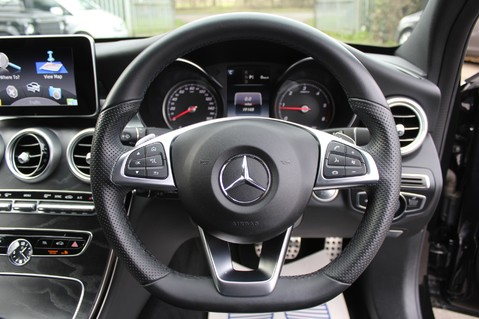 Mercedes-Benz C Class C220 D AMG LINE PREMIUM - PAN ROOF - 19 INCH ALLOYS - ONE OWNER - VAT Q 36