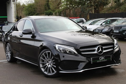 Mercedes-Benz C Class C220 D AMG LINE PREMIUM - PAN ROOF - 19 INCH ALLOYS - ONE OWNER - VAT Q 1