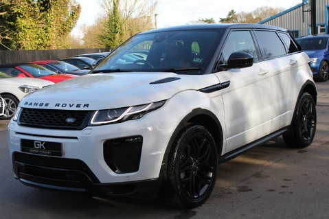 Land Rover Range Rover Evoque TD4 HSE DYNAMIC - EURO 6 - RED/BLACK LEATHER - ONE OWNER - APPLE CAR PLAY 8