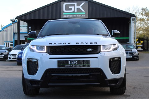 Land Rover Range Rover Evoque TD4 HSE DYNAMIC - EURO 6 - RED/BLACK LEATHER - ONE OWNER - APPLE CAR PLAY 9
