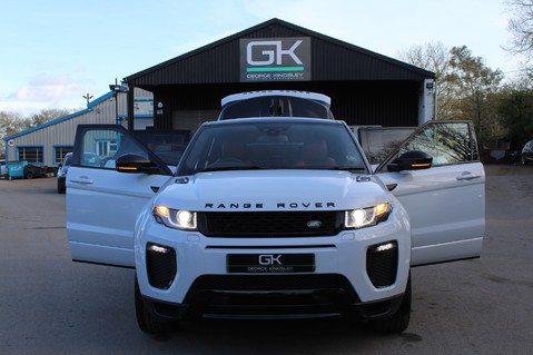 Land Rover Range Rover Evoque TD4 HSE DYNAMIC - EURO 6 - RED/BLACK LEATHER - ONE OWNER - APPLE CAR PLAY 19
