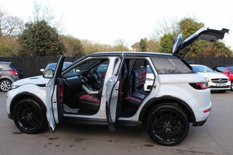 Land Rover Range Rover Evoque TD4 HSE DYNAMIC - EURO 6 - RED/BLACK LEATHER - ONE OWNER - APPLE CAR PLAY 21