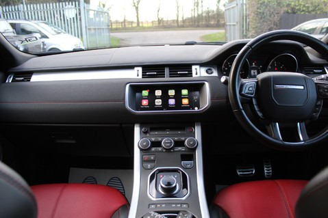 Land Rover Range Rover Evoque TD4 HSE DYNAMIC - EURO 6 - RED/BLACK LEATHER - ONE OWNER - APPLE CAR PLAY 10