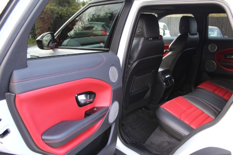 Land Rover Range Rover Evoque TD4 HSE DYNAMIC - EURO 6 - RED/BLACK LEATHER - ONE OWNER - APPLE CAR PLAY 35