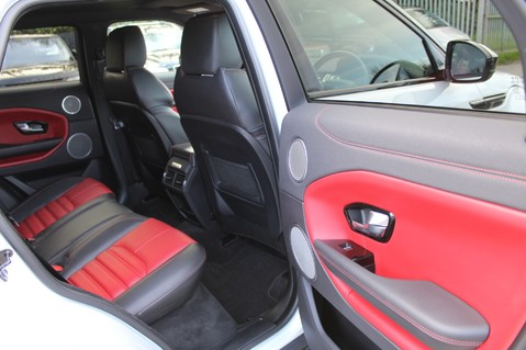 Land Rover Range Rover Evoque TD4 HSE DYNAMIC - EURO 6 - RED/BLACK LEATHER - ONE OWNER - APPLE CAR PLAY 37