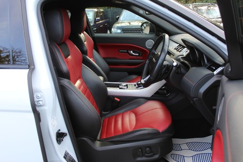 Land Rover Range Rover Evoque TD4 HSE DYNAMIC - EURO 6 - RED/BLACK LEATHER - ONE OWNER - APPLE CAR PLAY 39