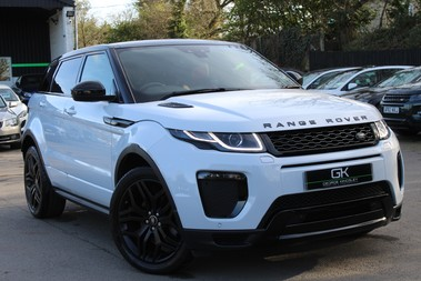 Land Rover Range Rover Evoque TD4 HSE DYNAMIC - EURO 6 - RED/BLACK LEATHER - ONE OWNER - APPLE CAR PLAY