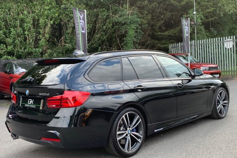 BMW 3 Series 320D M SPORT TOURING - EURO 6 - PAN ROOF - PRO SAT NAV - HARMAN KARDON 8