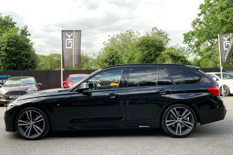 BMW 3 Series 320D M SPORT TOURING - EURO 6 - PAN ROOF - PRO SAT NAV - HARMAN KARDON 10