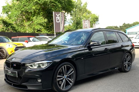 BMW 3 Series 320D M SPORT TOURING - EURO 6 - PAN ROOF - PRO SAT NAV - HARMAN KARDON 11