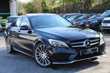 Mercedes-Benz C Class C250 D AMG LINE PREMIUM PLUS - EURO 6 - ONE OWNER -PAN ROOF -19 INCH ALLOYS