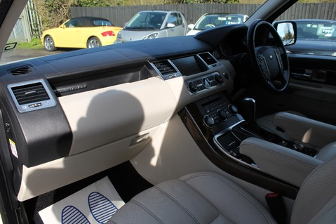Land Rover Range Rover Sport 5.0 V8 SUPERCHARGED HSE - 360 CAMERAS - DIGITAL TV- HEATED STEERING WHEEL 23