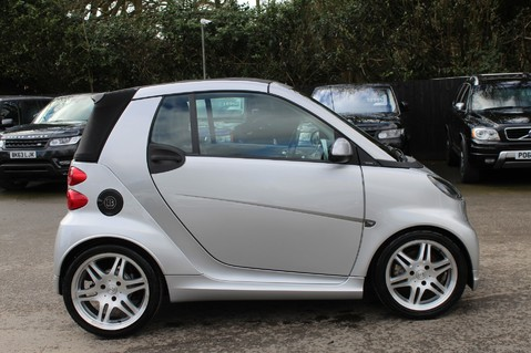 Smart Fortwo Cabrio BRABUS - SAT NAV - HEATED SEATS - FSH - RARE CAR - XENONS - MOT FEB 2021 4