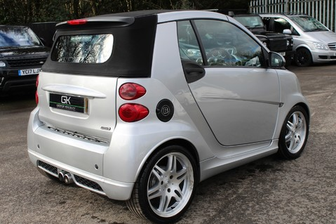 Smart Fortwo Cabrio BRABUS - SAT NAV - HEATED SEATS - FSH - RARE CAR - XENONS - MOT FEB 2021 5