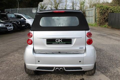 Smart Fortwo Cabrio BRABUS - SAT NAV - HEATED SEATS - FSH - RARE CAR - XENONS - MOT FEB 2021 6
