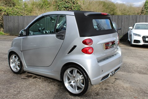 Smart Fortwo Cabrio BRABUS - SAT NAV - HEATED SEATS - FSH - RARE CAR - XENONS - MOT FEB 2021 2