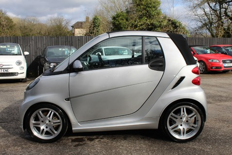 Smart Fortwo Cabrio BRABUS - SAT NAV - HEATED SEATS - FSH - RARE CAR - XENONS - MOT FEB 2021 7