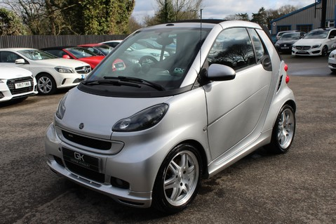 Smart Fortwo Cabrio BRABUS - SAT NAV - HEATED SEATS - FSH - RARE CAR - XENONS - MOT FEB 2021 8