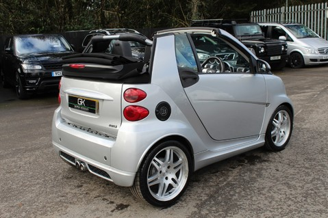 Smart Fortwo Cabrio BRABUS - SAT NAV - HEATED SEATS - FSH - RARE CAR - XENONS - MOT FEB 2021 25